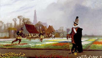 There Never Was a Real Tulip Fever