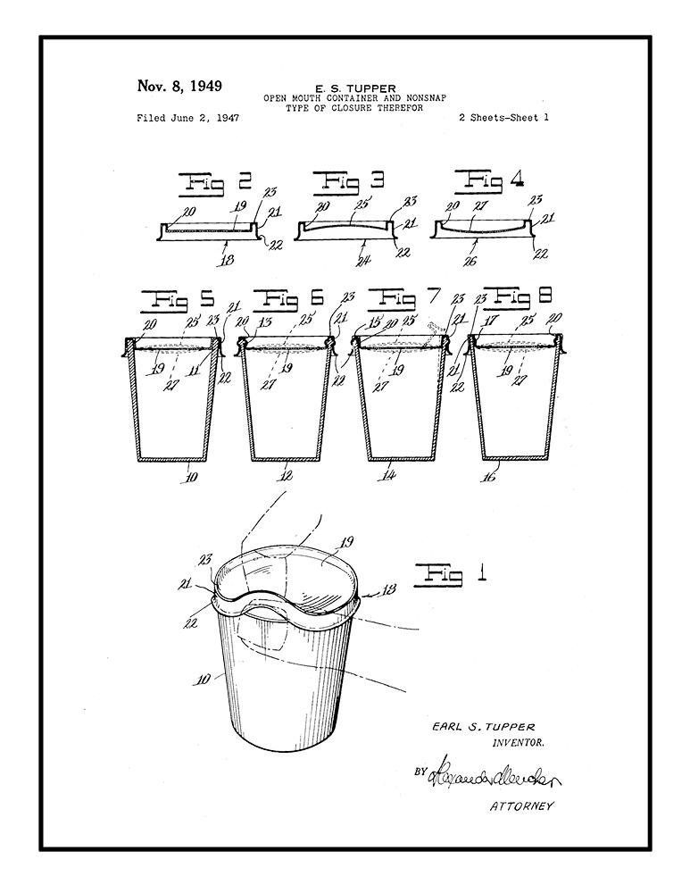 Tupperware Patent on Bmw X Wiring Diagram Fred Dryer Co Z Trusted