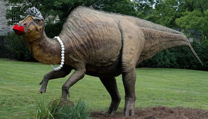 Dinosaur Sighting: A Hadrosaur Goes to the Ball in Nashville