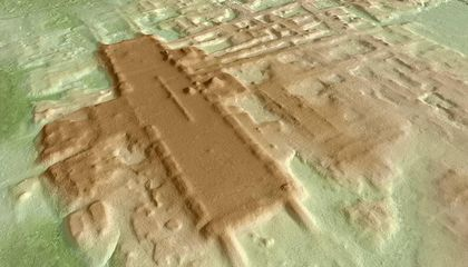 Aerial Survey Identifies Oldest, Largest Maya Structure Ever Found in Mexico