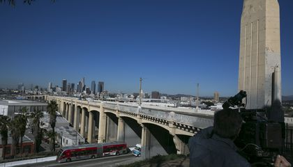 Image: Famous LA bridge is coming down