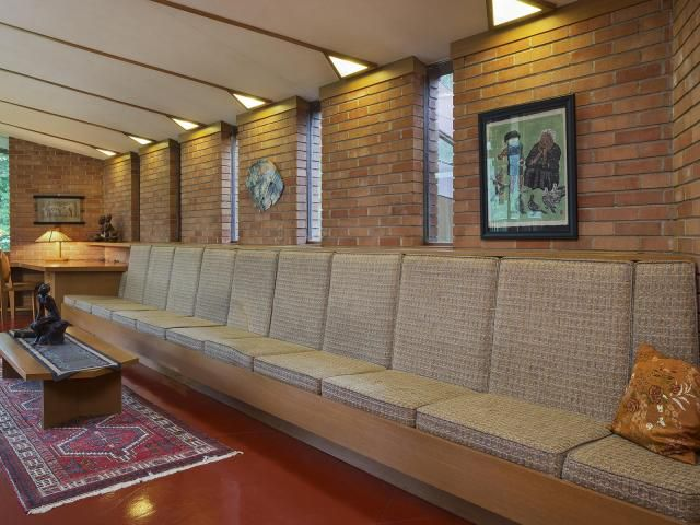A Minnesota Home Designed By Frank Lloyd Wright Is For Sale