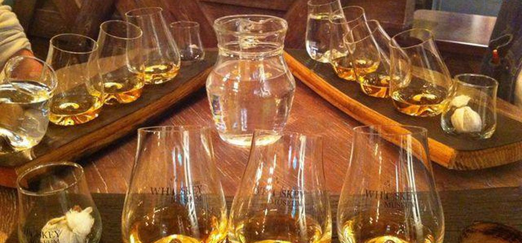 Sample Irish whiskey