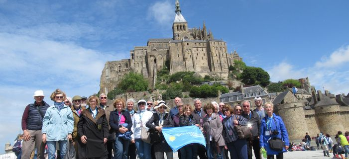 Smithsonian Journeys Travelers at Mont- Saint- Michael