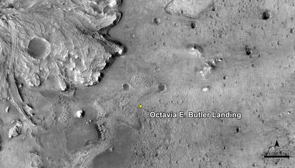 Mars' Perseverance Landing Site Named After Science Fiction Author Octavia E. Butler