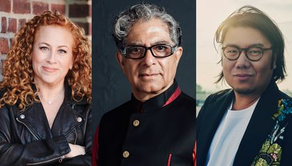 Jodi Picoult, Deepak Chopra, and Kevin Kwan are among the authors speaking at Smithsonian Associates Streaming programs this fall.