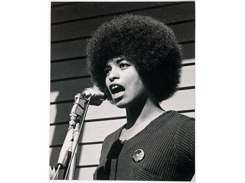 Angela Davis in 1969