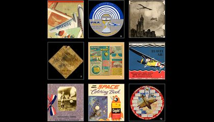 The History of Aviation in Posters, Brochures, Badges and Ticket Stubs