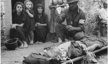 Again and Again in World War II, Blood Made The Difference