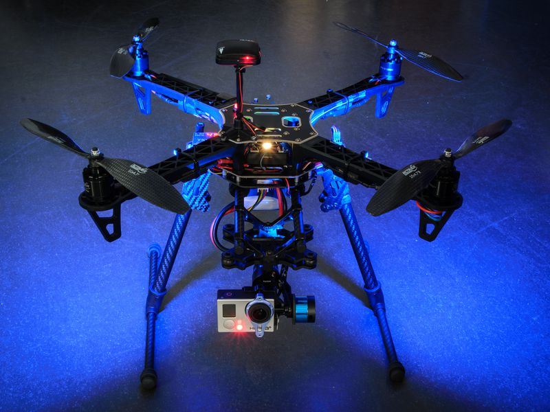 One of Christopher Vo's drones