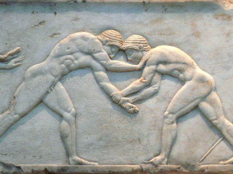 Ancient Greek wrestling