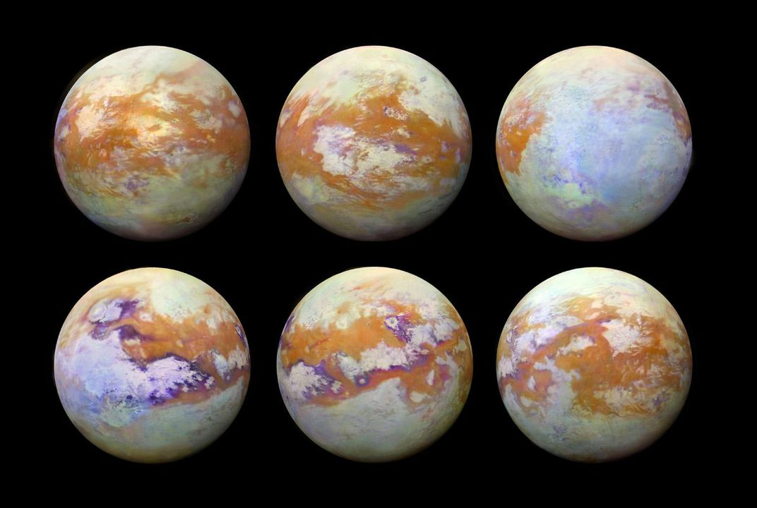 First Global Map of Saturn's Moon Titan Reveals Secrets of Earth's 'Deranged' Twin