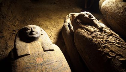 Trove of 2,500-Year-Old Sealed Coffins Unearthed in Egypt