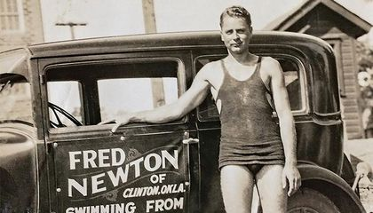 The Man Who Swam the Full Length of the Mississippi River