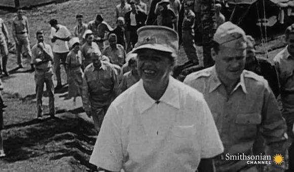 Preview thumbnail for video'Why Eleanor Roosevelt Visited Active War Zones During WWII