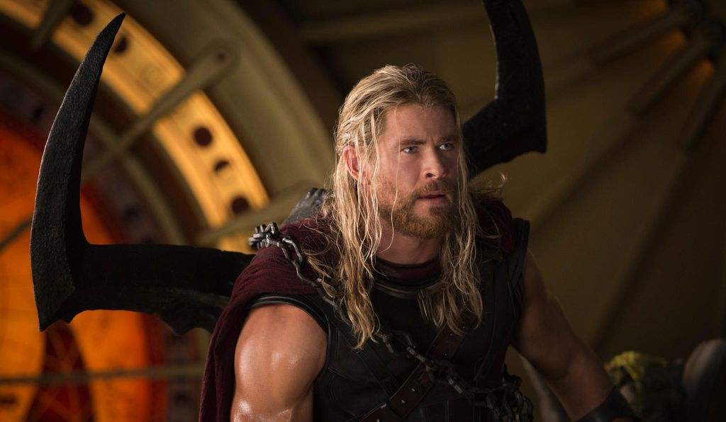The god Thor, played by the Australian actor Chris Hemsworth, seems highly human, in spite of his elite status.
