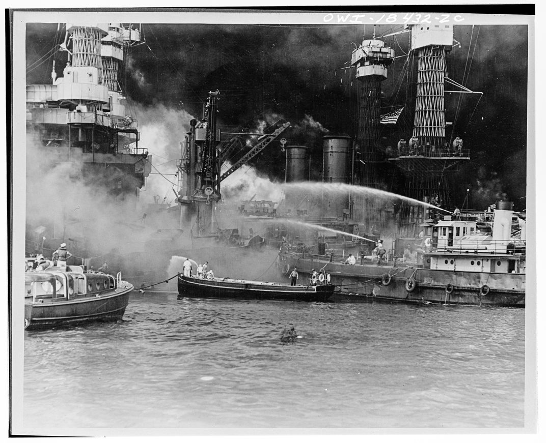 USS West Virginia attack