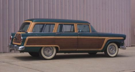 Smithsonian's 1955 Ford Country Squire Station Wagon