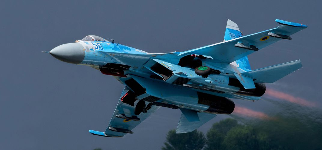 Caption: The Russian Jet That Fights for Both Sides