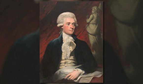Preview thumbnail for video'The Portraits of Thomas Jefferson