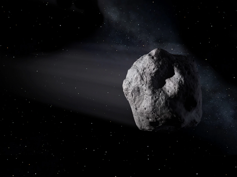 An Unexpected Asteroid Buzzed by Earth Last Sunday