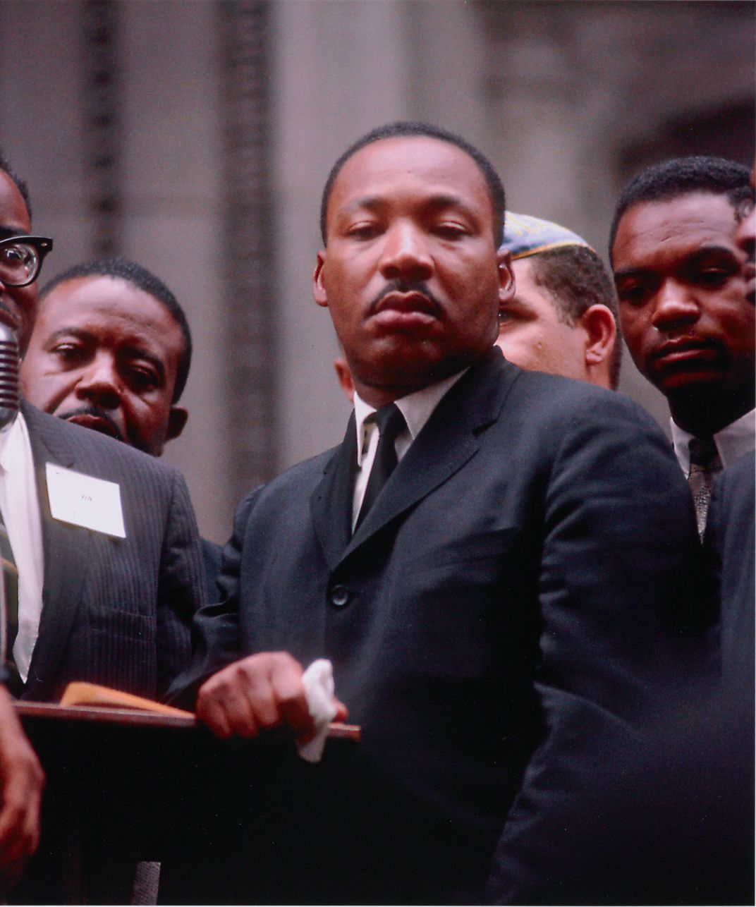A Collection of Rare Color Photographs Depicts MLK Leading ...