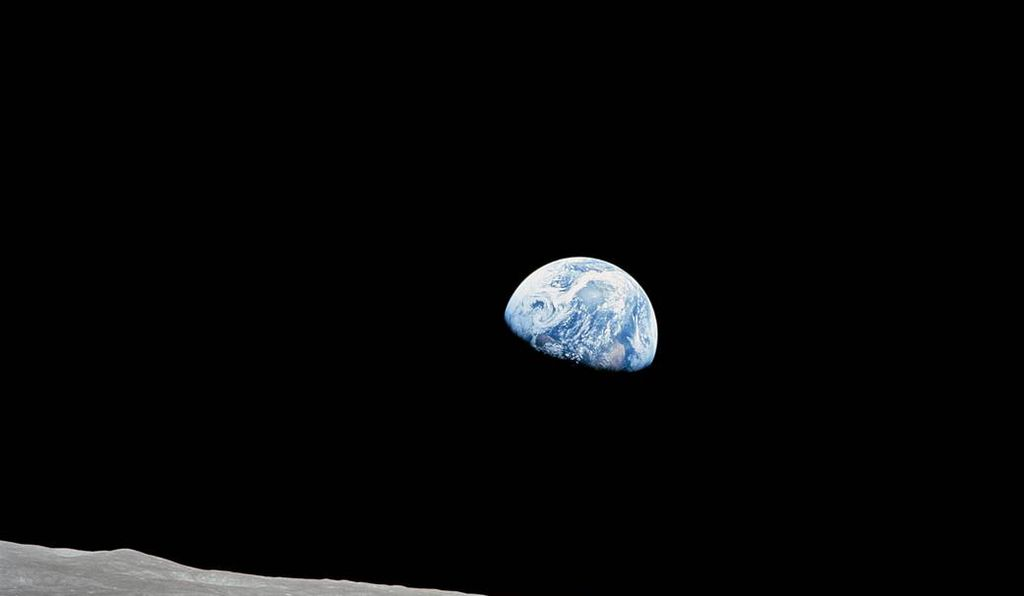 """Look at that picture over there!"" Anders called out. ""Here's the Earth coming up. Wow, is that pretty!"" The image <em>Earthrise</em> became one of the most famous of the Space Age."