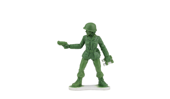 Little Green Army Men to Feature Female Soldiers