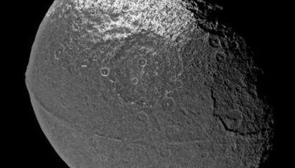 A Moon That Might Have Had Its Own Moon