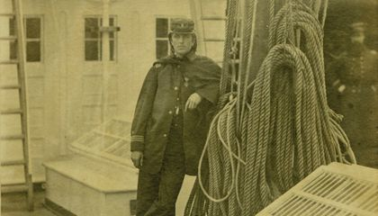 A New Addition to #MyDaguerreotypeBoyfriend Is the Civil War's Most Daring Naval Officer