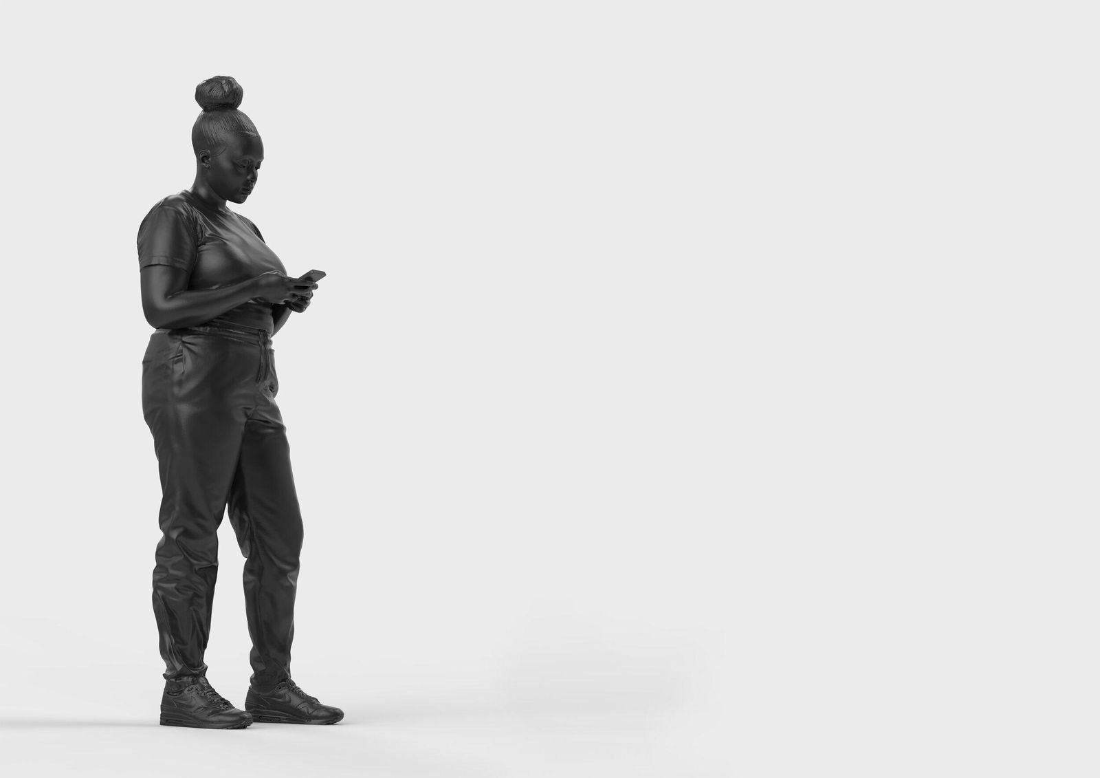 Amid Reckoning on Public Art, Statue of Black 'Everywoman' Unveiled in London