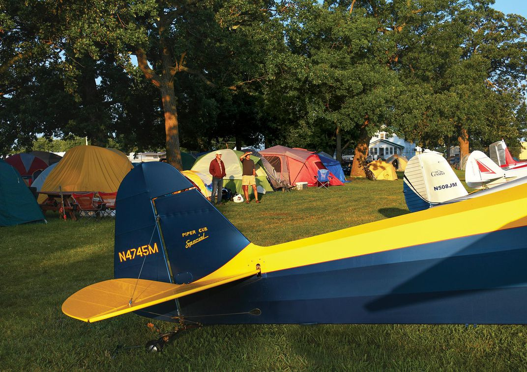 vintage aircraft campground