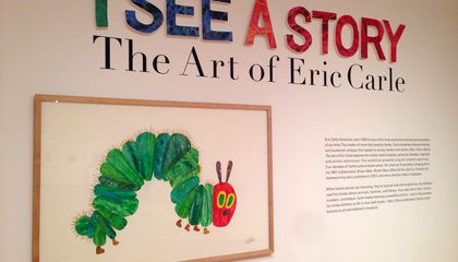 "Image: ""The Very Hungry Caterpillar"" gets a show"