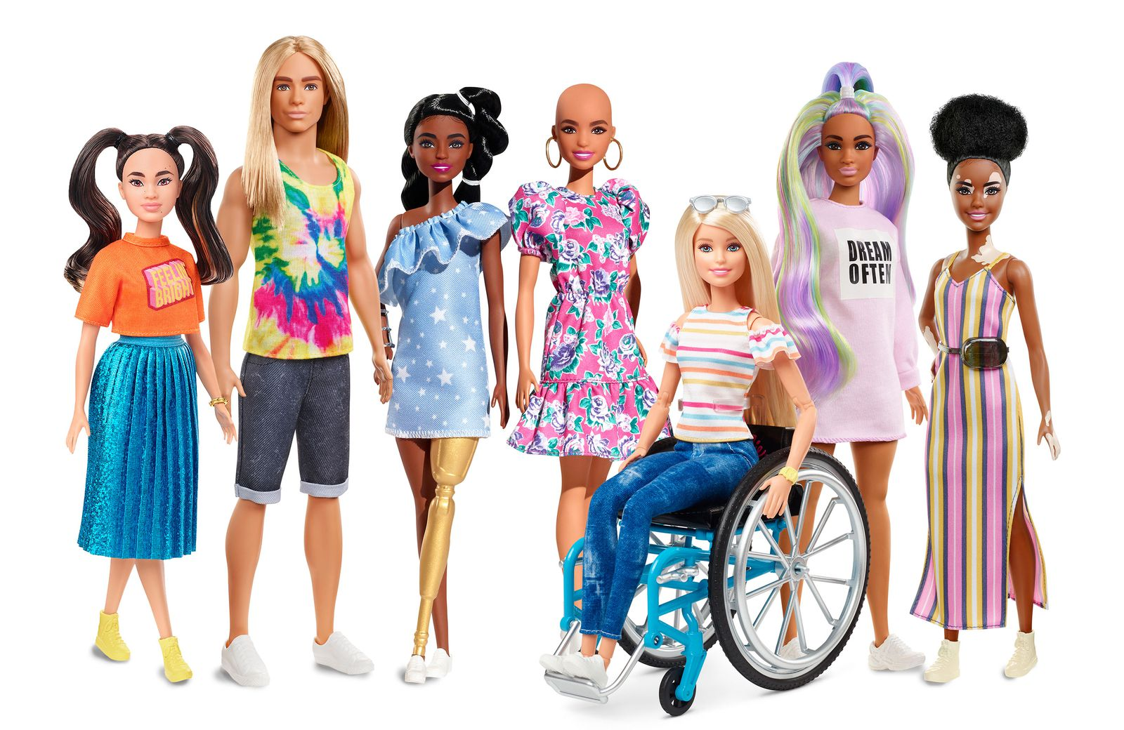 Meet The New Wave Of More Diverse Barbie Dolls Smart News Smithsonian Magazine
