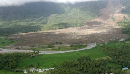 """Landslide """"Quakes"""" Give Clues to the Location and Size of Debris Flows"""