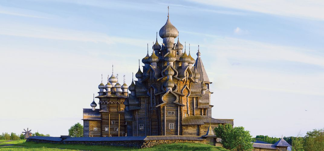 Church of the Transfiguration, Kizhi Island