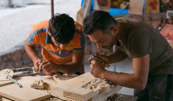Keeping Armenia's Stone Carving Tradition Alive