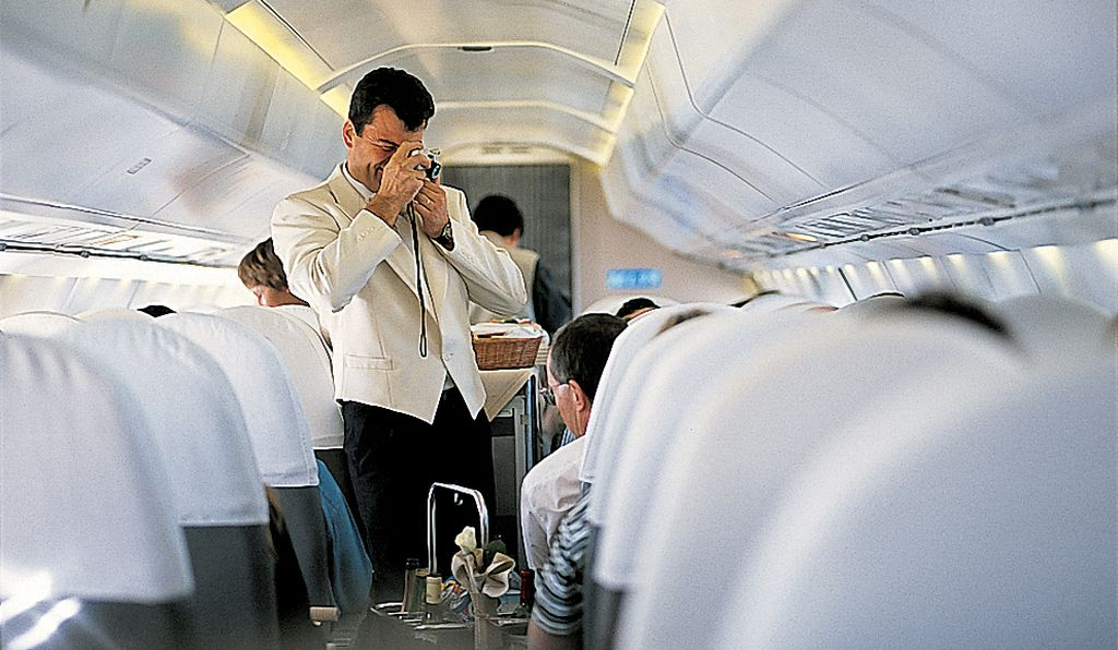 The Concorde predated selfie culture, but passengers frequently asked flight attendants to snap their photos.