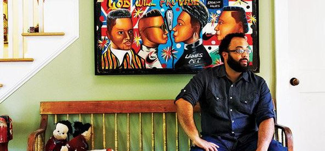 Caption: Kevin Young on the Right to Write