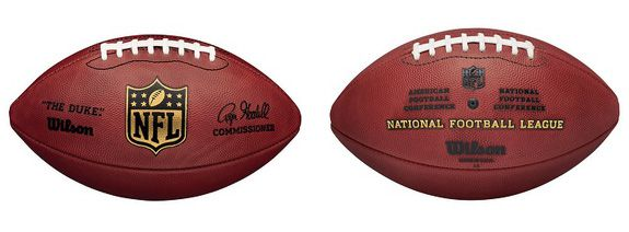"""The Duke"" is the official football of the NFL"