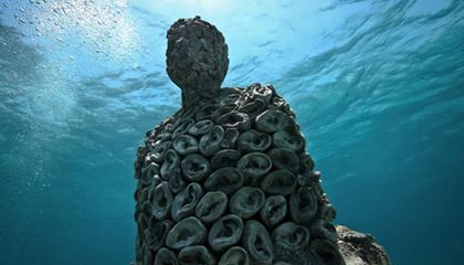 All Ears! An Underwater Sculpture that Listens