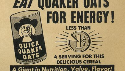 A Spoonful of Sugar Helps the Radioactive Oatmeal Go Down