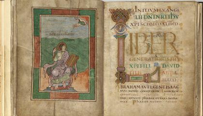 Medieval Manuscripts Are a DNA Smorgasbord