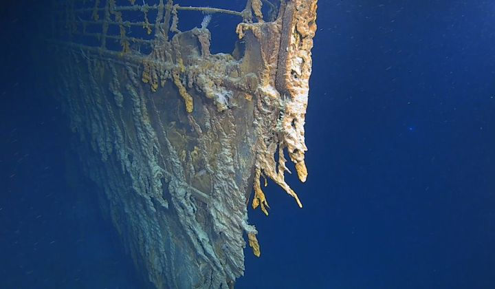 The Titanic Is Being Reclaimed by the Sea