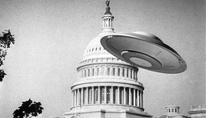 Earth vs. the Flying Saucers @ the Hirshhorn