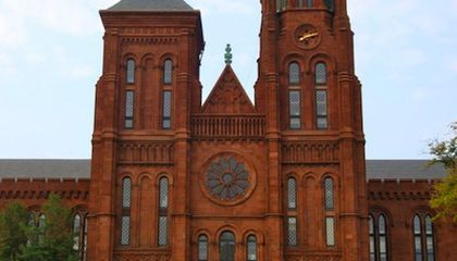 The Story Behind Smithsonian Castle's Red Sandstone