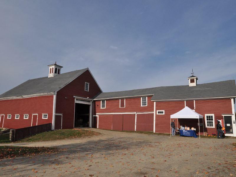 The barn at Cogswell's Grant, Essex, Massachusetts