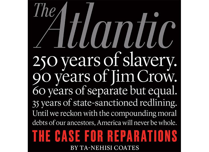 the concept of reparations for slavery in america American society is still being impacted by the effects of slavery is it time to have a serious discussion about reparations subscribe for more videos.