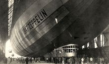Eighty years ago, a beautiful blimp took to the sky.