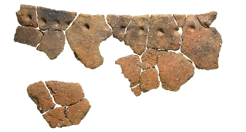 Fragment of Neolithic vessel found in London